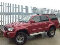 TOYOTA HILUX SURF 3.0 SSR-G INTER COOLER AUTO 4X4 RED