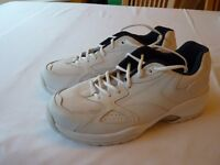 White leather trainers, never worn