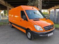 "2012 Mercedes Sprinter 313 CDi LWB Hi Roof Panel Van 1 Owner Full Dealer SH HPI Clear MOT ""NO VAT"""