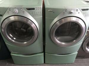 37- Laveuse Secheuse Frontales WHIRLPOOL STEAM  Frontload Washer Dryer