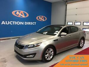 2011 Kia Optima EX HUGE SUNROOF! LEATHER! FINANCE NOW!