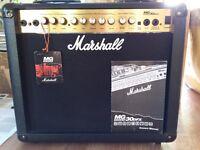 Marshall MG30 DFX Digital FX Effects Guitar Amplifier