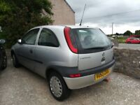 Vauxhall corsa for spares or repair