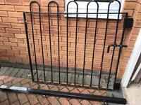 Very heavy duty steel gate 1.2m x 1.2m. £35