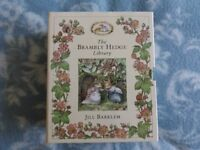Brambly Hedge Library 8 Book Box Set Hardback Jill Barklem