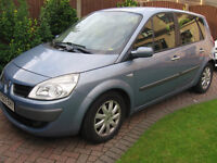 renault scenic 1.9dci dynamique only 2 owners with fsh diesel 57 reg