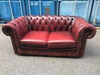 Vintage chesterfield sofa possible delivery
