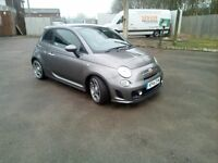 Abarth 500 2014 Record Grey 14000 miles