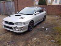 Subaru Impreza UK2000 AWD Turbo Modified BARGAIN swaps s3 astra vxr cupra r st