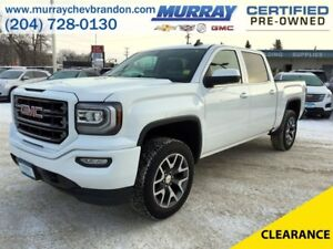 2016 GMC Sierra 1500 Crew Cab SLE 4WD *Backup Cam* *Heated Seats