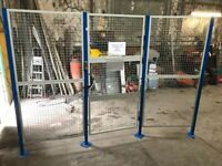 3 Panel Painted Security Cage - 315 cm length x 220 cm height