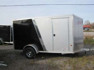 2016 Mission Trailers 6X12 ALUMINUM V-NOSE CARGO TRAILER