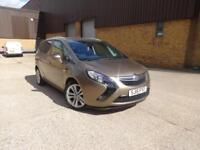 Vauxhall Zafira Tourer SRi CDTi (brown) 2015