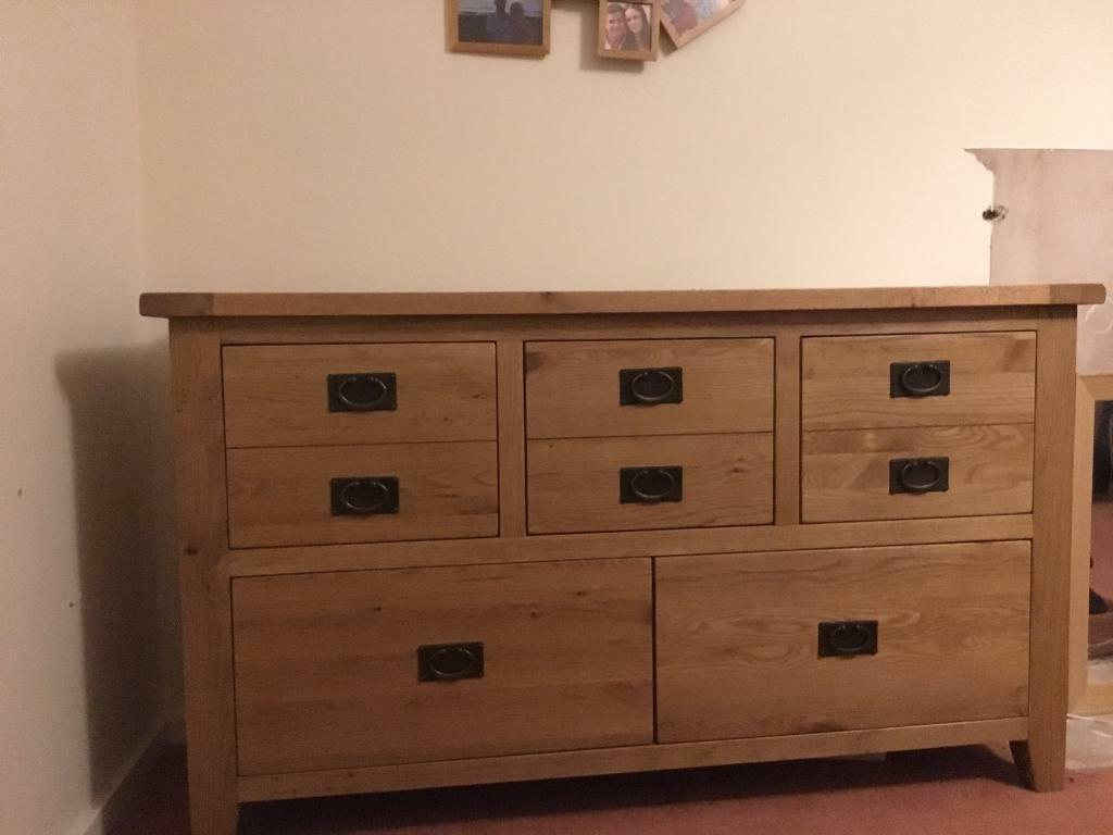 ***sold*** Solid Oak Sideboard - excellent condition
