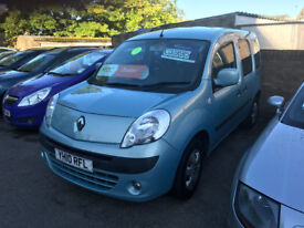 FINANCE AVAILABLE RENAULT KANGOO EXPESHION 1.5 DCI PEOPLE CARRIER PX POSS