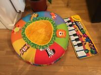 Baby Playnest & Baby Soft Kick Musical Piano Mat