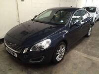Volvo S60 2.0 D4 SE Lux 4 dr start/stop Automatic 70Mpg Leather Air con Great value 3 Month warranty