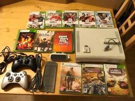 XBox 360 + 11 Games etc