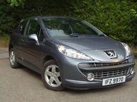 2008 Peugeot 207 1.4 Sport 3 door Full Mot** Low miles**Warranty inc** fiesta corsa polo megane