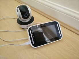 Baby monitor (video) with night vision . Great buy to keep a watch on your little one!