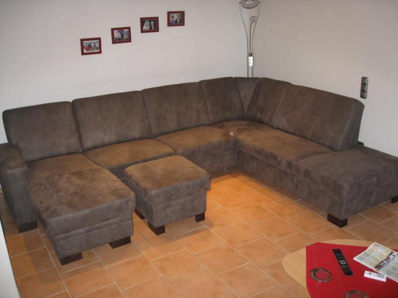 riesige wohnlandschaft couch kein jahr alt neuwertig in niedersachsen bramsche ebay. Black Bedroom Furniture Sets. Home Design Ideas