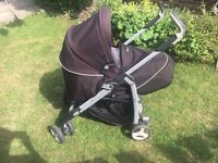 Silver Cross 3D Pram with Car Seat (foot muff & rain cover included)