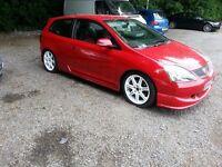 Honda Civic type r ep3 Milano red
