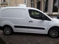 Freezer Van and Driver for hire, Citroen Berlingo (-20C). Glasgow Area.