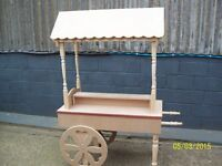 for sale sweet candy cart weddings / partys,,,,,,£185