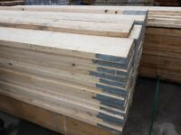 🌟 Banded New White Wood Scaffold Boards