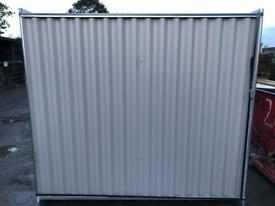 *New* Solid Hoarding Sets ~ Panel/ Foot/ Clip ~ Temporary Site Sercurity Fencing