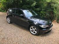 BMW 1 SERIES 116I EDITION ES AUTO 2 KEYS (black) 2009