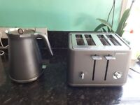 Morphy Richards kettle & 4 slice toaster.