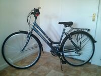 Ladies traditional style bike almost new