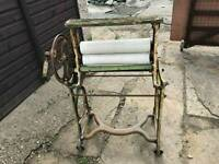 Old antique clothes mangle for sale