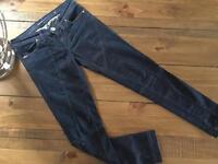 Miss Sixty dark blue jean size 27