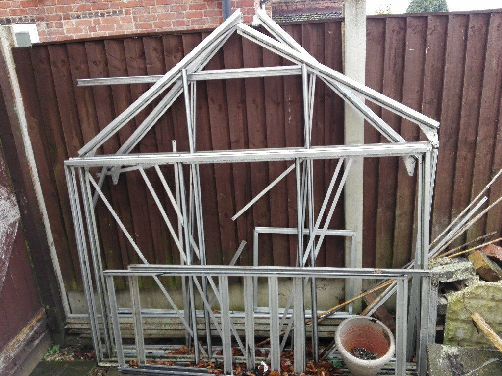 6 ft + 6ft green house with glass