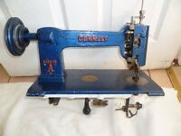 The Cornely A, a single thread chain-stitch embroidery machine( FREEHAND EMBROIDERY)