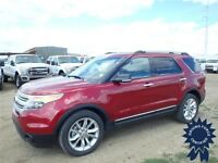 Ruby Red Metallic 2014 Ford Explorer Packed Full of Good Flavour