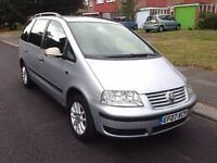 Volkswagen Sharan SE TDI 115 Auto 7 Seater - PCO, Automatic Diesel, In-Built Baby Seats