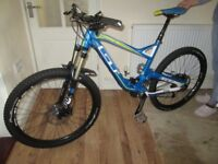 GT Sensor Pro 2014 in stunning condition ( Beast Of A Take On Anything Mountain bike ) Large Frame.