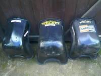 Kart race seats L'S'M sizes padded