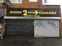 Shop to Let on Kingsbury Road