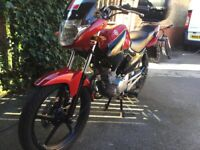 Yamaha YBR 125 low mileage exceptional condition.