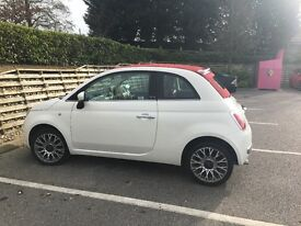 Fiat 500 automatic. Convertable. Lovely car with lots of extras. 12 months MOT. 1 Previous Owner.
