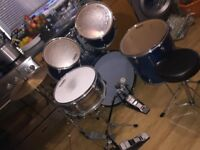 Performance Percussion, 5 Piece Drum Kit