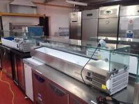 Refrigerated food display cabinet 1,5 m