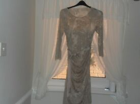 ladies phase eight dress and facinator bnwt