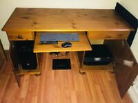 Free Pine Office Desk
