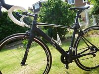 ORRO Oxygen Ladies Road Bike -Super light Carbon Fibre ALMOST NEW